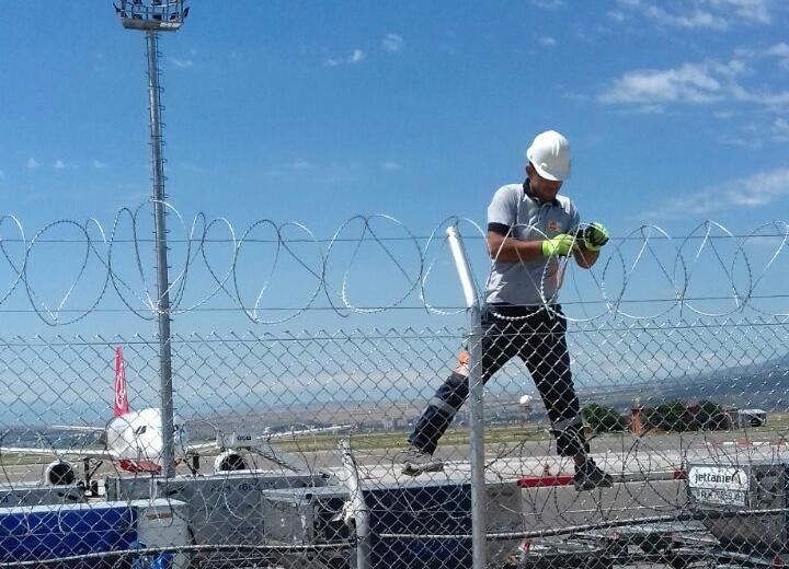 დავასრულეთ აეროპორტის სამონტაჟო სამუშაოები