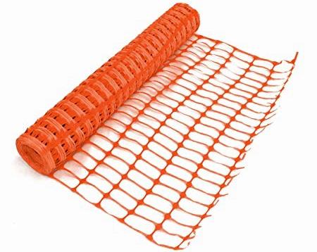 Orange Safety Fence Barrier